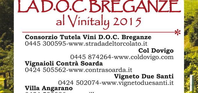 la DOC BREGANZE al VINITALY 2015