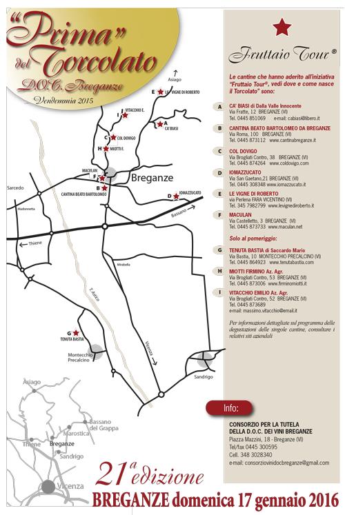 PRIMA DEL TORCOLATO 2016: il Fruttaio Tour