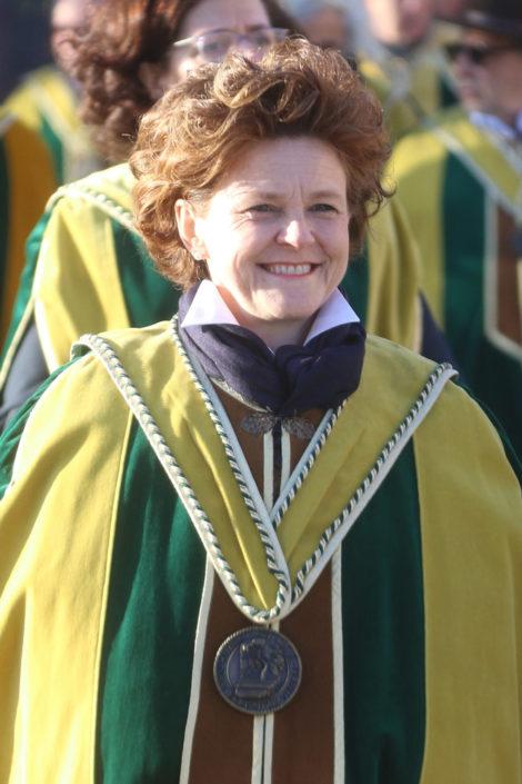Franca Miotti, produttrice di Torcolato e Gran Priore della Magnifica Fraglia del Torcolato DOC Breganze - Prima del Torcolato 2017 - ph.Stella