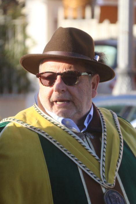 Fausto Maculan, produttore di Torcolato e presidente della Strada del Torcolato e dei Vini di Breganze - Prima del Torcolato 2017 - ph.Stella