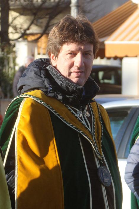 Andrea Mazzucato, produttore di Torcolato nella cantina IoMazzucato - Prima del Torcolato 2017 - ph.Stella
